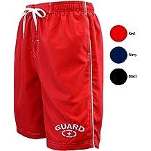 2588eb2d58 Adoretex Men's Guard Swimsuit Board Shorts Swim Trunks Mesh Liner
