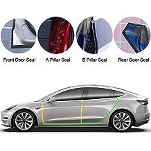 omotor Tesla Model 3 Door Seal Kit Noise Reduction Soundproof Rubber Weather Draft Seal Strip Wind Kit