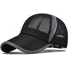 068d2d881 ELLEWIN Unisex Breathable Quick Dry Mesh Baseball Cap Sun Hat