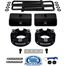 Ford F250 2.5 Lift Kit Daystar all transmissions all cabs KF09128BK fits F250//350 2005 to 2017 4WD with Dana 70 Rear 4.5 Diameter Axle Tube Made in America Ford F250 2.5 Lift Kit