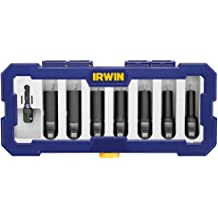 IRWIN Tools 1882404 Impact Performance Series 6-Point Deep Well Socket Bit 15//16-Inch 1//2-Inch Square Drive