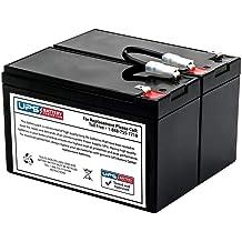 APC Smart-UPS C 1500 LCD RM 2U 230V SMC1500I-2U UPSBatteryCenter Compatible Replacement Battery Pack RBC132