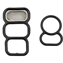 SecosAutoparts Spool Valve VTEC Solenoid Gasket Kit15825-P0A-015,36172-P0A-005 For Honda Accord