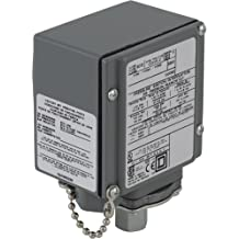80 psi Set Off 20 psi Fixed Differential 1//4 NPT External Square D by Schneider Electric 9013FHG9J43 Air-Compressor Pressure Switch