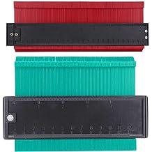 TADAMI Contour Gauge Duplications,10 Inch Widen Contour Gauge Tool,Shape Duplicator,Precisely Copy Irregular Shapes,Outline Gauge Standard Wood Marking Tool,Profile Copy Tool Measuring for Contoured