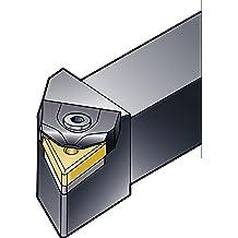 External 1-1//4 Width x 1-1//4 Height Shank 6 Length x 1.5 Width WNMG 432 Insert Size Left Hand Sandvik Coromant DWLNL 20 4D Turning Insert Holder Steel Rigid Clamp Square Shank