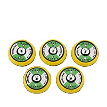 Ouya 10PCS 1//4-20 Thread 1.5 Velcro Backing Pad Hook and Look Plate for Air Sander and Dual Action Car Polisher