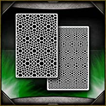 Shattered Glass B  Airbrush Stencil Template Airsick