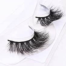 4e2d39c8ef8 Arimika Long Thick Dramatic Look Handmade Reusable 3D Mink False Eyelashes  For Makeup 1 Pair Pack
