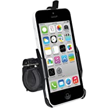 iPhone 5S Amzer AMZ95603 Bicycle Bike Handlebar Holder Mount for Apple iPhone 5 - Black iPhone SE Fits All Carriers