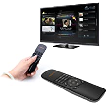 Black Color : Black JINYANG Helpful X6 Air Mouse 2.4GHz Wireless Keyboard 3D Gyroscope Sense Remote Controller for PC Game Devices Android TV Box//Smart TV