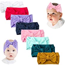 10pcs Nylon Baby Headbands Stretchy Baby Headbands One Size Fits All Wholesale Nylon Headbands DIY Craft Supply Baby Shower,10225862