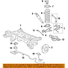 Rear Left Genuine Honda 52372-S3V-A00 Trailing Arm
