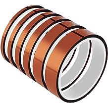 F019-24 24mm 2.4cm x 30M Kapton Tape High Temperature Heat Resistant Polyimide