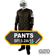 PROFOX-103 Blue Small Pants Auto Racing Fire Resistant Single Layer SFI 3.2A//1 Racing Fire Suit Pants only
