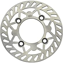 GOOFIT Disc Brake Plate for Yamaha JOG RSZ100 ZY100T AEROX100 RSZ125 Scooter Moped
