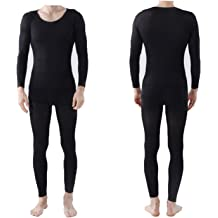 hengyuany 37 Degree Constant Temperature self-Heating Couple Thermal Underwear Cover Slim fit Thin Thermal/Innerwear