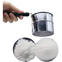 UMFun Stainless Chocolate Shaker Icing Sugar Powder Flour Cocoa Coffee Sifter