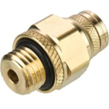 M10X1 mm 6 mm Brass Tube to Pipe Pack of 5 Parker F8UPMTB6-M10-pk5 Push-to-Connect D.O.T Push-to-Connect and Metric Straight Thread Connector Fitting