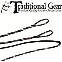Ancore Flemish String-Replacement Recurve Bowstring-AMO String Length 58//60//62 Multi-colors-16 Strands-Dyneema Materials