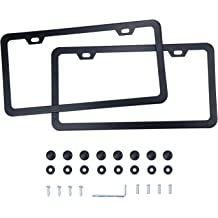 Motorup America Auto License Plate Frame Cover Two Dancers Fits Select Vehicles Car Truck Van SUV