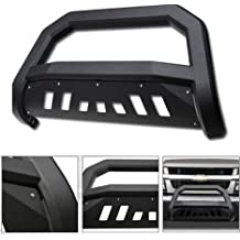 VXMOTOR 2010-2018 Dodge Ram 2500//3500 Matte Black AVT Edge Bold Series Bull Bar Brush Push Front Bumper Grill Grille Guard