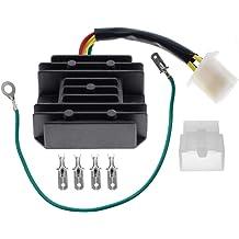 AUTOKAY Ingition Key switch 5045-013 for Honda TRX300 TRX300FW Fourtrax TRX 300 ATV Quad 1990-2000