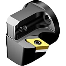 27 mm Functional Width Left Hand 28 mm Shank Diameter 5727826 DNMG 15 06 08 Master Insert Sandvik Coromant C4-PDJNL-27055-15 T-Max P Cutting Unit for Turning Cx-PDJNR//L Tool 55 mm Functional Length