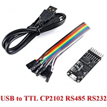 GalaxyElec 100pcs USB to TTL//USB-TTL//STC microcontroller Programmer PL2303 in Nine Upgrades Plate with a Transparent Cover PL2303HX