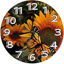 9.8Inch Round Easy to Read Decorative for Home//Office//School Clock FEAIYEA Wall Clock Arsenal FC The Gunners Decorative Wall Clock Silent Non Ticking