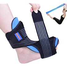 140c81365d Plantar Fasciitis Night Splint Foot Drop Orthotic Brace for Sleep Support-  Adjustable Dorsal Night Splint for Effective Relief from Plantar .