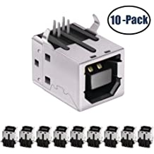 0.28 Width 1.0 mm Pitch Uxcell a15070400ux0844 Bottom Port FFC FPC Ribbon Sockets Connector 4 Pin 0.43 Length