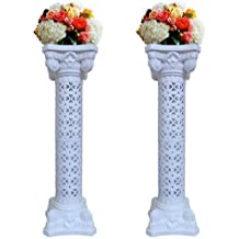 5318333bf Elegant Wedding Roman Column Set Pillars Decoration Party Flower Pot  Columns Decor Roman Columns for Weddings