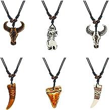 Davitu Gold Color Hiphop Five-Pointed Star Shape Men Pendant Necklaces Stainless Steel 60cm Long Cuban Link Chain Necklace Men Jewelry Metal Color: Gold-Color, Length: 60cm