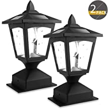 Black Wellite 96 Inch Outdoor Lamp Post Direct Burial Aluminum Post for Drive Way