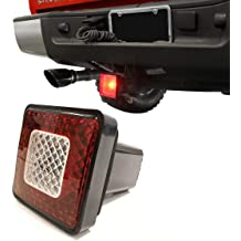 MaxxHaul 50021 Trailer Hitch Cover With 12 LEDs Brake and Tail Light Functions