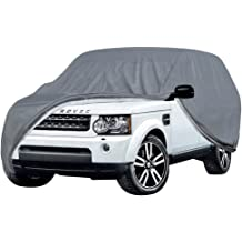 OxGord 5 LayerPly Duty Waterproof Car Cover with Fleece Inner Lining Fits Cars up to 204