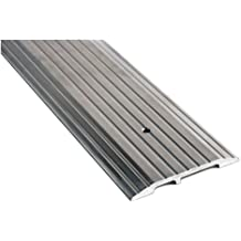 36 L x 5 W x 1//4 H Mill Finish National Guard 513-36 NGP Fluted Commercial Saddle Threshold