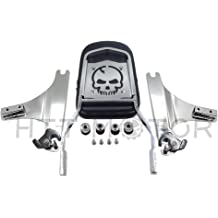 XKMT-Detachable Backrest Sissy Bar Compatible With 97-08 Harley Touring Electra Glide Road Glide B074RBMPMW