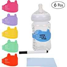 Sippy Cup and Breastmilk Storage Bags Baby Bottle Labels Jar Self-Laminating and Removable Labels Sticker for Bottle 200PCS Waterproof Name and Date Label for Daycare or Kitchen