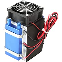 4chip-#1 Semiconductor Refrigeration Machine Cooler DC 12V 4//6 Chip DIY Air Cooling Device for Small Space Cooling Pet Air Conditioner Huairdum Semiconductor Cooler