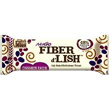 new arrival f5468 ebf81 NuGO Fiber d  39 Lish Cinnamon Raisin Nutrition Bar, 16 Count, 25.4