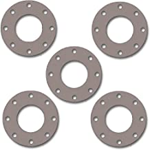 Pressure Class 300# Sterling Seal CFF7157.500.031.300X5 7157 60 Durometer Full Face Gasket 1//2 Pipe Size Pack of 5 EPDM 0.84 ID 1//32 Thick