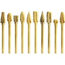 4pcs, Gold Panzisun Screw Bolt Extractor Drill Bits Guide Set Damaged Remover Stud Hand Tools