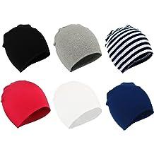 1b37e06f3639ae Zando Toddler Baby Beanies Hat for Baby Girls Cotton Knit Beanie Kids  Lovely Soft Cute Cap