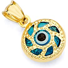 GoldenMine Fine Jewelry Collection 14k Yellow Gold Eagle Pendant