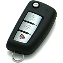 FCC ID: KR55WK48903 // P//N: 285E3-JA05A OEM 4-Button Keyless Entry Remote Smart Proximity Key Fob Compatible With Nissan