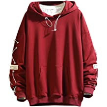 Solid Color Hooded Sweatshirt for Women Girls,Jchen Autumn Long Sleeve Casual Hoodie Pullover Tops Tracksuits with Pocket
