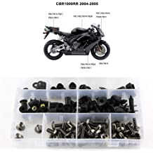 Full Set Bodywork Screws//Fastenings//Mounting Kits for Honda CBR1000RR 2004 2005 Silver Xitomer Complete Fairing Bolts