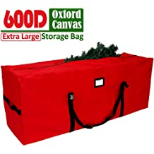 Moisture /& Insects.Green SHareconn Christmas Tree Storage Bag Waterproof Material Protects Against from Dust Stores a 7.5-Foot